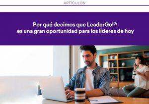 LeaderGo!®, la nueva plataforma para la formación de líderes